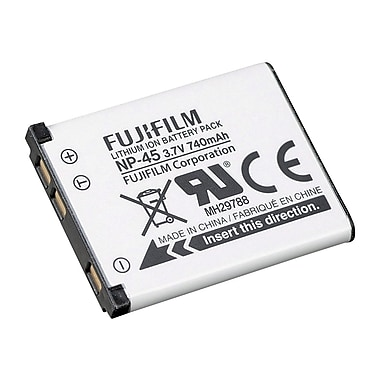 Fujifilm 16074132 3.7 VDC Lithium ion Digital Camera Battery, 700 mAh