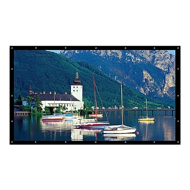 Elite Screens™ DIY Series 193in. Wall Projector Screen, 4:3, Black Backing