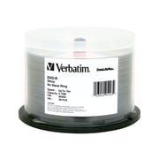 Verbatim 95203 4.7 GB DVD-R Spindle, 50/Pack