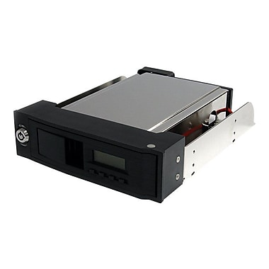 Startech.Com® HSB110SATBK Trayless Hot Swap Mobile Rack For 3 1/2in. SATA Hard Drive