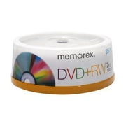 Imation 4.70GB 4X DVD+RW, Spindle, 25/Pack