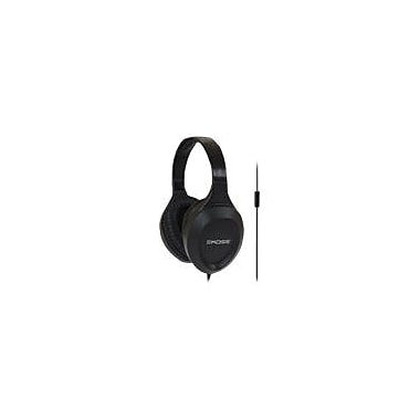 Koss® Over-The-Head Classical Headphone With Inline Microphone, Black