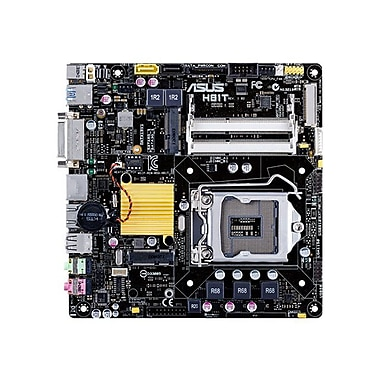 Asus® H81T/CSM 16GB Intel H81 LGA1150 EXPRESS 2X SO-DIMM Thin Mini-ITX Motherboard