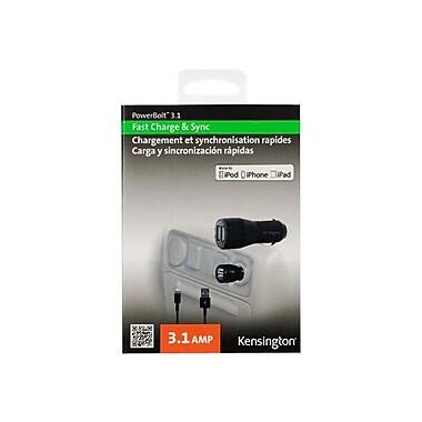 Kensington® PowerBolt™ K39705AM Dual Fast Charger, 5 VDC - 3.1 A