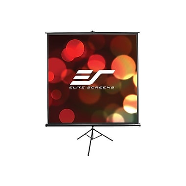 Elite Screens® Tripod Series 50in. Portable Projection Screen, 1:1, Black Casing