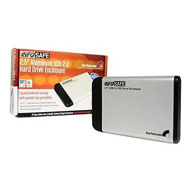 Startech.Com® IDE2510U2 Silver USB 2.0 to IDE External Hard Drive Enclosure