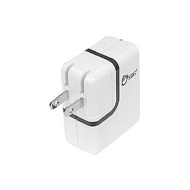 Siig® AC-PW0912-S1 2-Ports USB Power Adapter, 5 VDC - 2 A