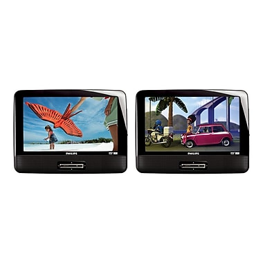 Philips PD9016P 9in. Dual Screen Portable DVD Player