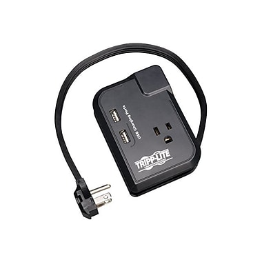 Tripp Lite Protect it!® 3-Outlet 540 Joule Portable Surge Suppressor With 1' Cord