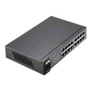 ZyXEL ES1100-16 16-Port Ethernet Switch, Black