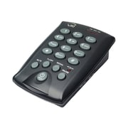 VXi D200 Dialpad Single-Line Telephone for Headsets,(202922)