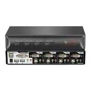 Avocent® SwitchView™ 4SVDVI10-001 DVI KVM Desktop Switch, 4 Ports