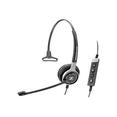 Sennheiser Century SC 630 USB CTRL Mono Headset With Microphone, Black/Silver