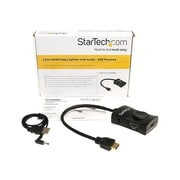 StarTech ST122 HDMI Video Splitter With Audio, 2 Ports