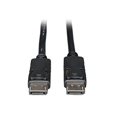 Tripp Lite P580-003 3' DisplayPort Monitor Cable, Black