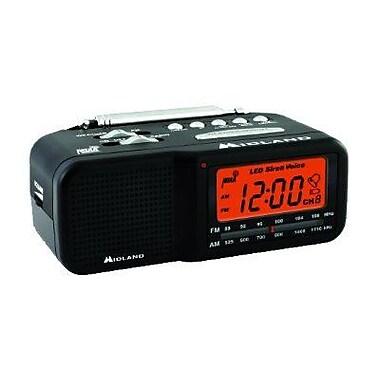 Midland Radio® WR11 Alarm Clock Weather Alert Radio