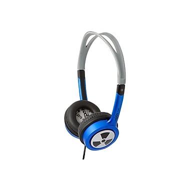 ifrogz® Zagg® Earpollution Personal Toxix Headphones, Blue