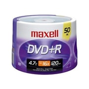 Maxell 639013 4.7 GB DVD+R Spindle, 50/Pack