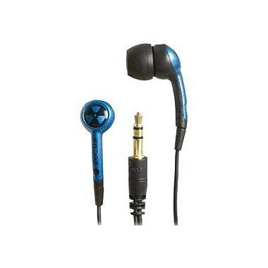 iFrogz Plugz EPD33-BLUEBLACK EarPollution Earbud, Blue