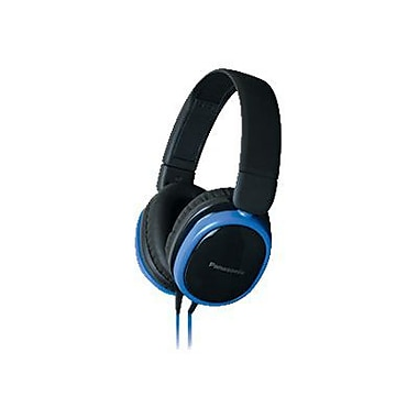 Panasonic® Street Band Monitor Headphones With Remote, Blue/Black