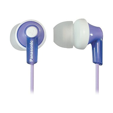 Panasonic® RP-HJE120 ErgoFit In-Ear Headphones, Violet