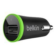 Belkin® F8J051TT Single Micro Car Charger For Apple Smartphone/Samsung Tablet PC, Black/Green