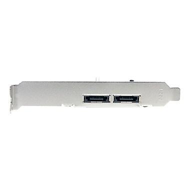 Startech® 2 Port PCI-Express eSATA Controller Adapter Card (PEXESATA2)