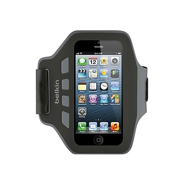 Belkin Ease-Fit Armband for iPhone 5, Blacktop