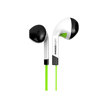 ifrogz® IF-ITN Audio InTone Earbuds With Microphone, Green