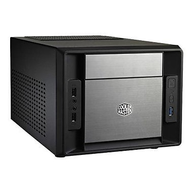 Cooler Master® Ultra Small Elite 120 Advanced Computer Case, Black