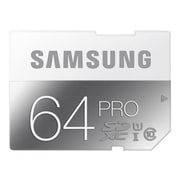 Samsung® Pro 64GB SDXC (Secure Digital eXtended Capacity) Class 10/UHS-I Flash Memory Card