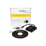 "StarTech 8"" USB 3.0 Female to Male Gigabit Ethernet Adapter, Black"
