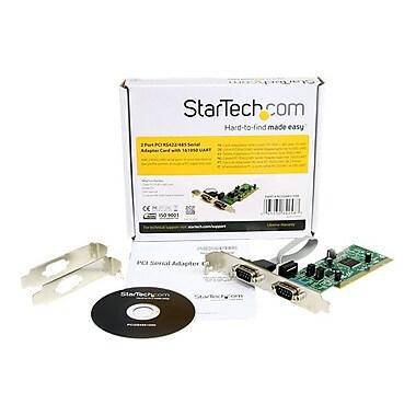 Startech.Com® PCI2S4851050 2 Port PCI Standard Profile Serial Adapter Card