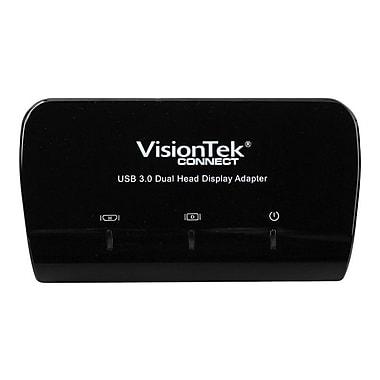 VisionTek® Connect Series USB 3.0 External Dual Display Adapter