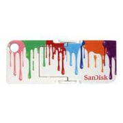 SanDisk® Cruzer Pop 8GB USB 2.0 Flash Drive With Paint Design