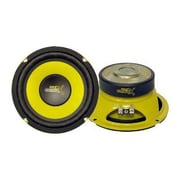 Pyle® Gear-X Yellow 300 W Mid Bass Woofer