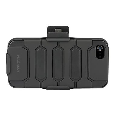 macally™ Holster Case With Belt For iPhone 5, Black