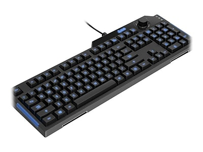Aluratek AGB600F Wired Gaming Keyboard, Black