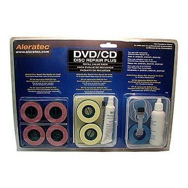 Aleratec® 240138 DVD/CD Disc Repair Plus Refill Value Pack