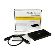 "StarTech S2510U33USM 2 1/2"" SATA USM™ Enclosure For S2510U33RUSM USM Bay, Black"