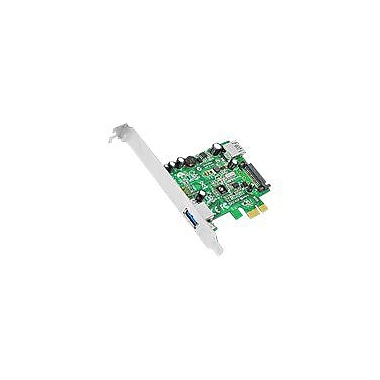 Siig® JU-P20712-S1 2-Port PCIe USB 3.0 Host Adapter