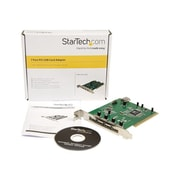 Startech.com® 7 Port PCI USB Card Adapter