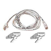 Belkin ™ A3L980 6' RJ-45 Male/Male Cat6 Snagless Patch Cable, White (A3L980-06-WHT-S )