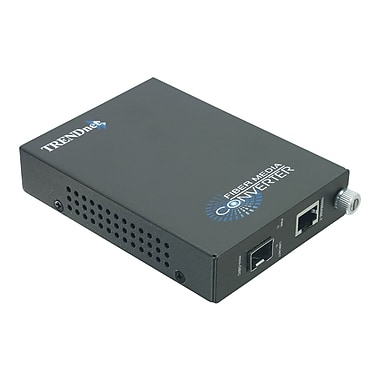 TRENDnet® TFC-1000MGB Gigabit Ethernet to Fiber Media Converter