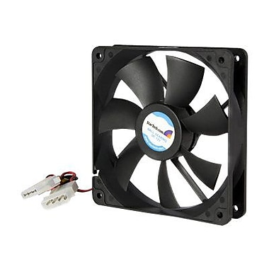 Startech.com® FANBOX12 Dual Ball Bearing Computer Case Fan With LP4 Connector, 2000 RPM