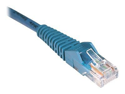 Tripp Lite 2 Cat5e RJ45 RJ45 Snagless Molded Cable Blue