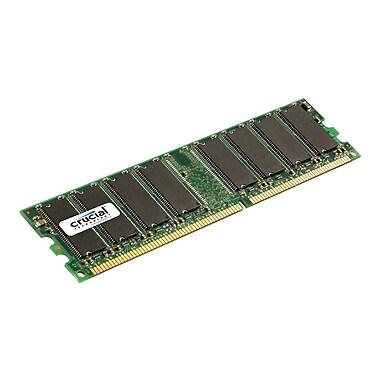 Crucial 512MB (1 x 512MB) DDR (184-Pin DIMM) DDR 333 (PC2700) Desktop Memory Module