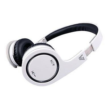 V7® HS6000 Bluetooth Wireless Headset With Microphone, White