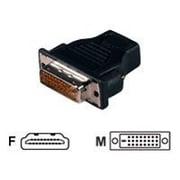 QVS® High Speed DVI Male to HDMI Female Adaptor
