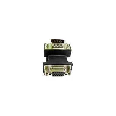 Calrad 35-704A VGA Right Angled Adapter, Black